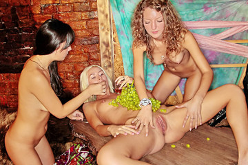 Groovy college orgy in a club, part 4